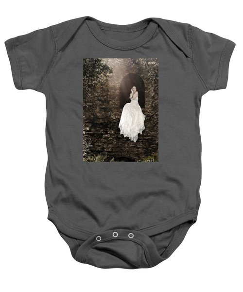 Princess In The Tower Baby Onesie
