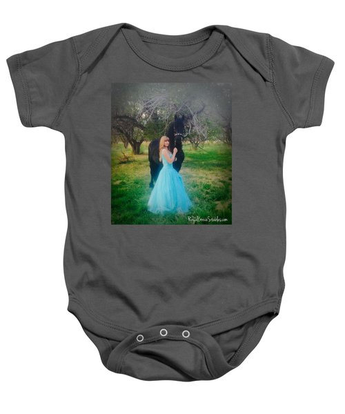 Princess' Stallion Baby Onesie