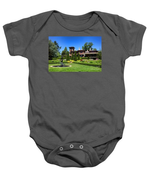 Princeton University Prospect Gardens And House Baby Onesie