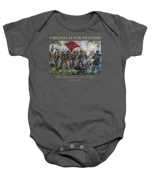Proctor's Creek - Second Battle Of Drewry's Bluff Baby Onesie