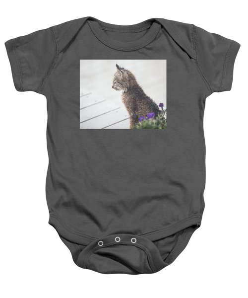 Profile In Kitten Baby Onesie