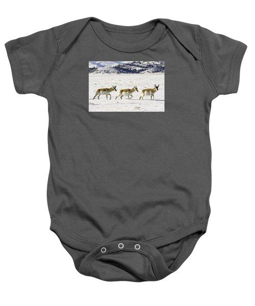 Pronghorns Baby Onesie