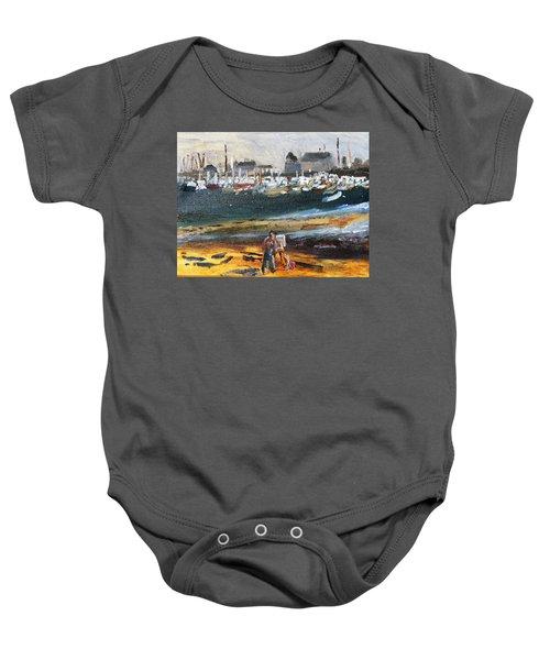 Provincetown Artist Baby Onesie