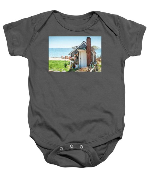 Provincetown Shed Baby Onesie