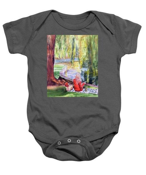 Public Garden Picnic Baby Onesie