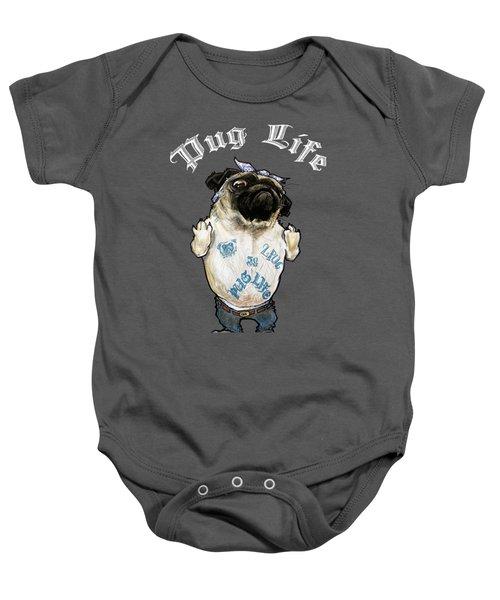 Pug Life Baby Onesie