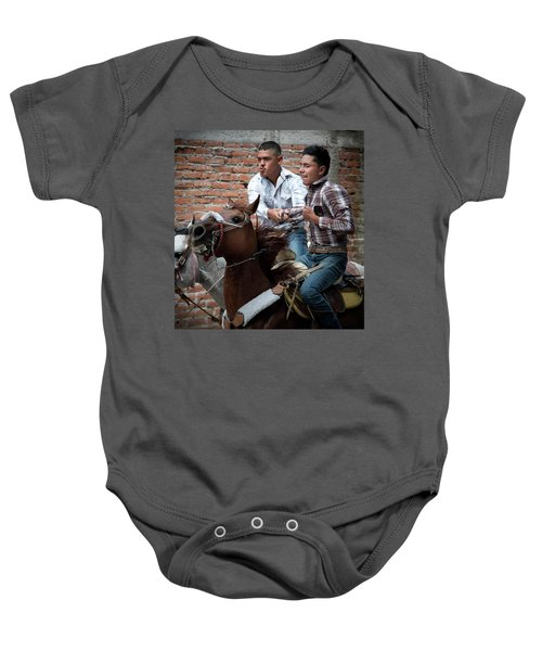 Pull Me If You Can Baby Onesie