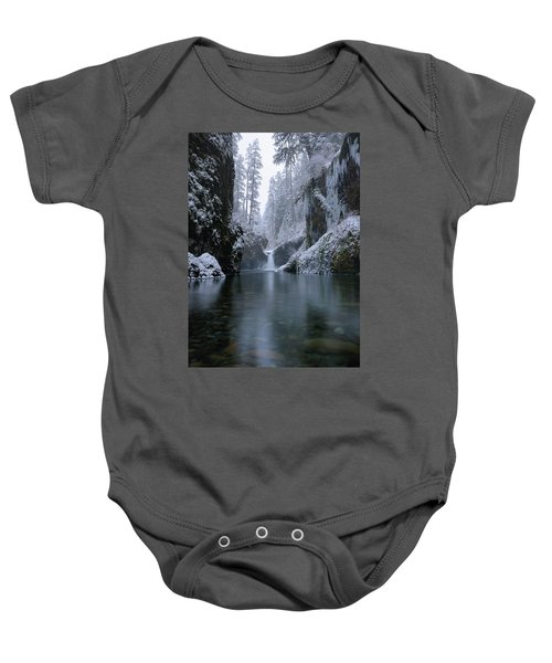 Punch Bowl Winter Baby Onesie