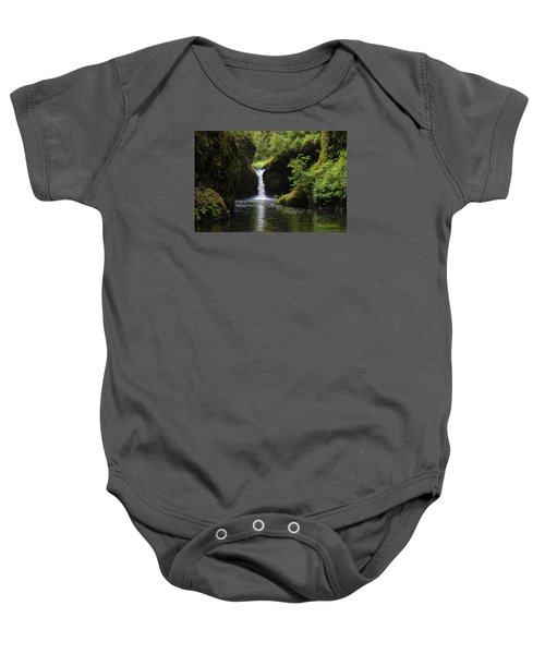 Punchbowl Falls Signed Baby Onesie