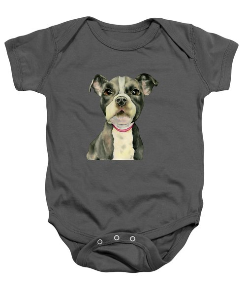 Puppy Eyes Baby Onesie