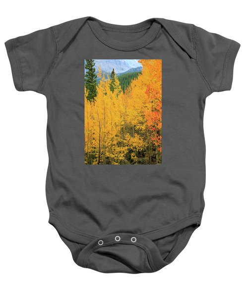 Baby Onesie featuring the photograph Pure Gold by David Chandler