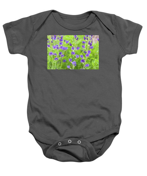 Purple Beauties Baby Onesie