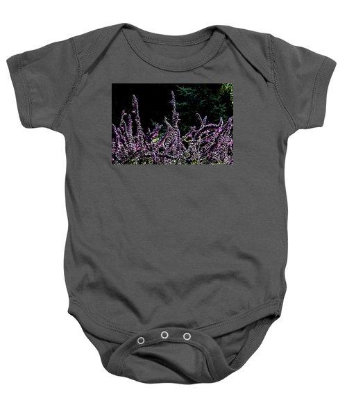 Purple Beauty Baby Onesie