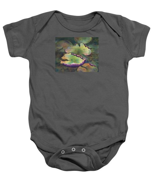 Purple Linings I Baby Onesie