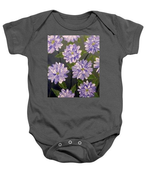 Purple Passion Baby Onesie by Teresa Wing