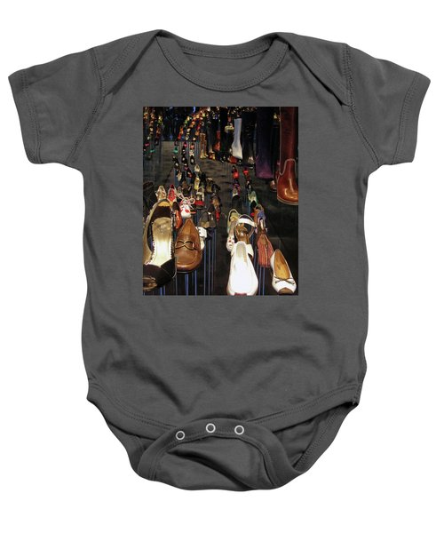 Put Your Shoes ... Baby Onesie