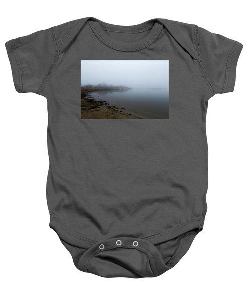 Quarry Lake - The Fog Series Baby Onesie