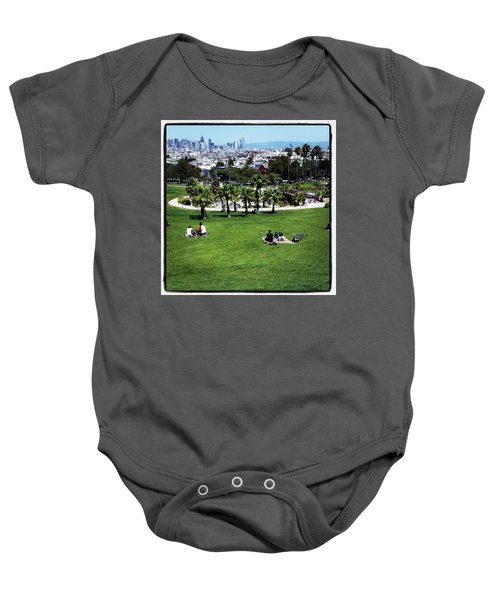 Baby Onesie featuring the photograph Quiet At #doloresgaybeach by Mr Photojimsf
