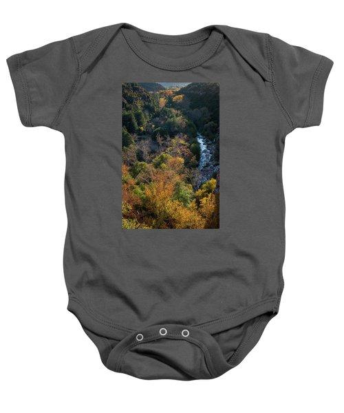 Quiet Canyon Baby Onesie