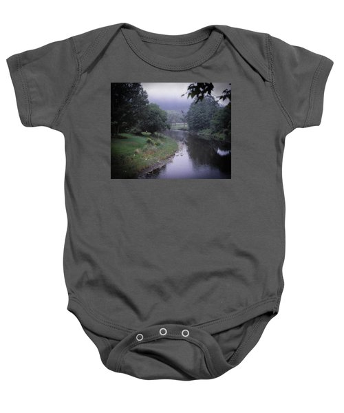 Quiet Stream- Woodstock, Vermont Baby Onesie