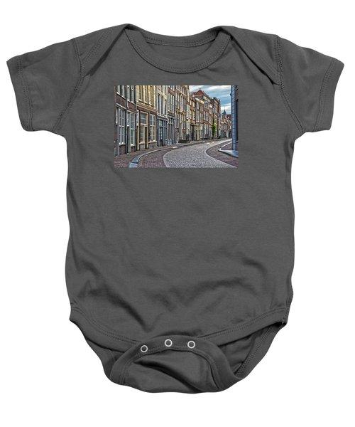 Quiet Street In Dordrecht Baby Onesie