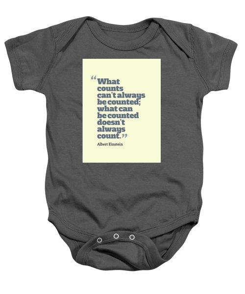 Quote Baby Onesie