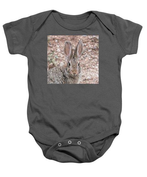 Rabbit Stare Baby Onesie