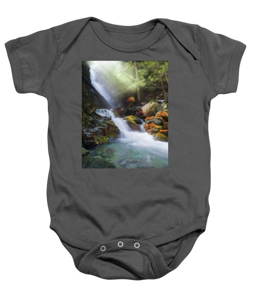 Baby Onesie featuring the photograph Race Brook Falls 2017 by Bill Wakeley