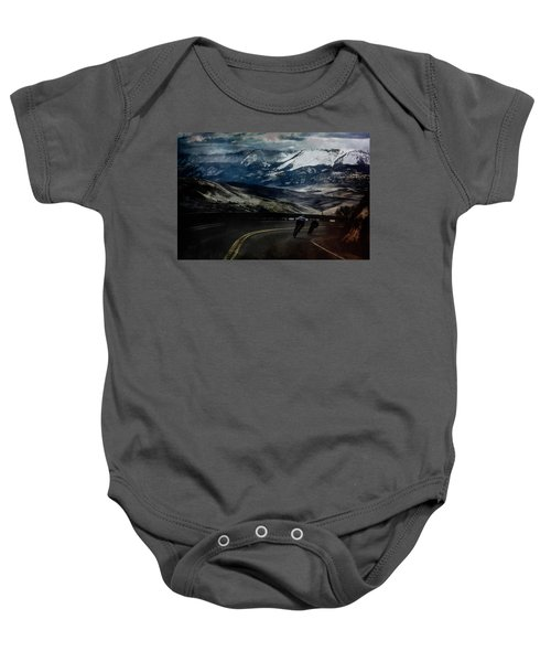 Race To The Finish Baby Onesie