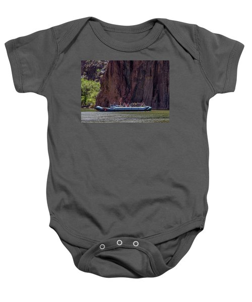 Rafters On The Colorado River, Grand Canyon Baby Onesie