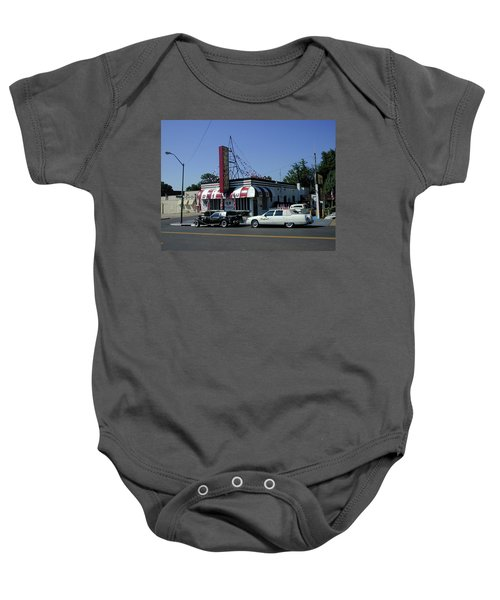 Baby Onesie featuring the photograph Raifords Disco Memphis A by Mark Czerniec