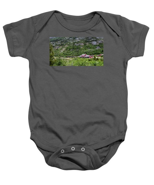 Railroad To The Yukon Baby Onesie