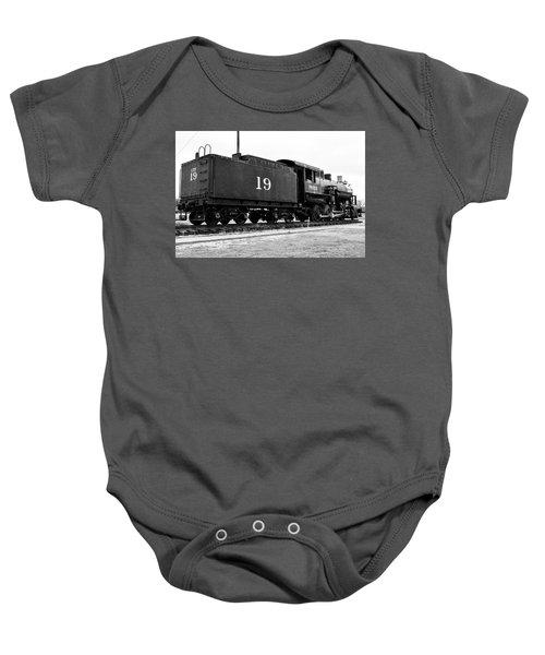 Railway Engine In Frisco Baby Onesie