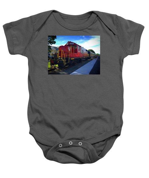Blue Ridge Railway Baby Onesie