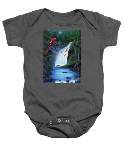 Rain Forest Macaws Baby Onesie