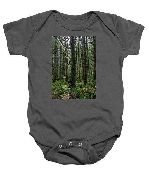 Rain Forest Of Golden Ears Baby Onesie