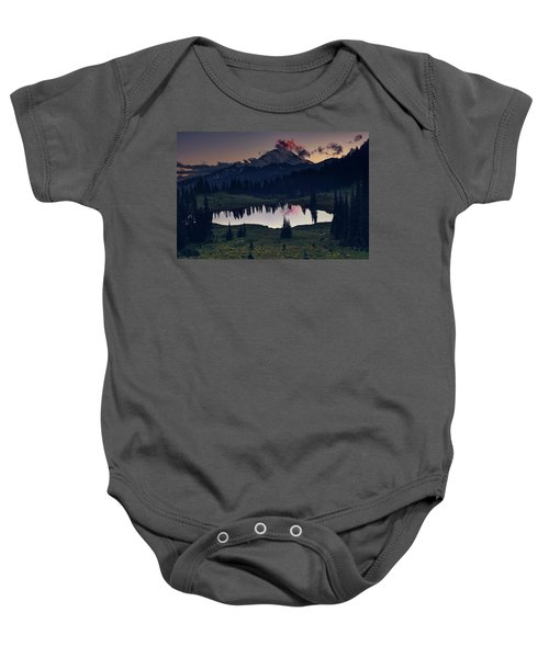 Rainier Color Baby Onesie