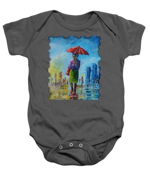 Rainy Day Baby Onesie