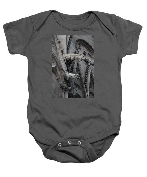 Ram And Eagle Griffon Notre Dame Baby Onesie