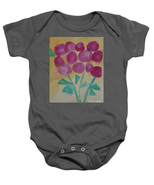 Randi's Roses Baby Onesie
