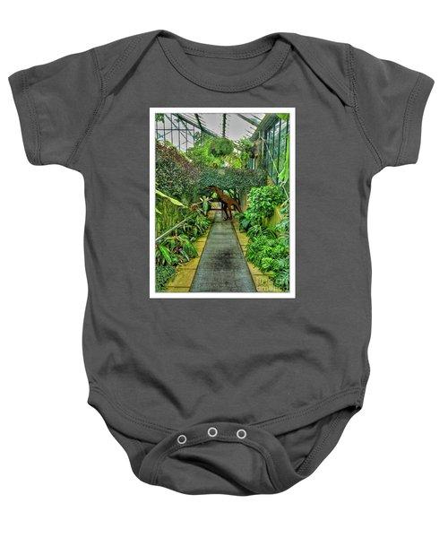 Raptor Seen In Kew Gardens Baby Onesie
