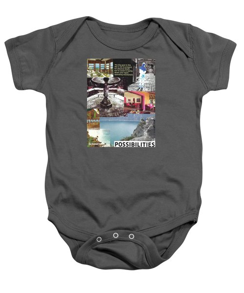 Realms Of Possibility Baby Onesie
