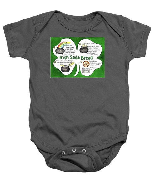 Recipe - Irish Soda Bread Baby Onesie