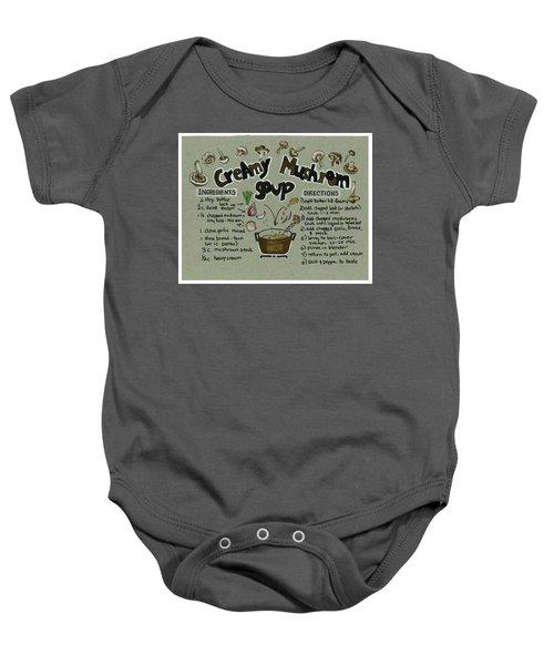 Recipe Mushroom Soup Baby Onesie