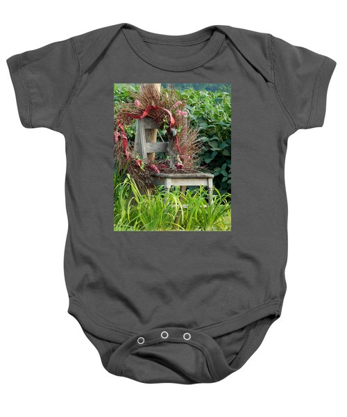 Recycled Welcome Baby Onesie