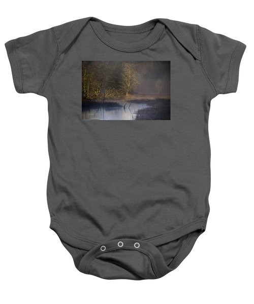 Red Alder Along Colewort Creek Baby Onesie