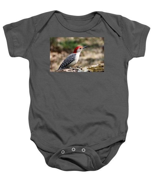 Red-bellied Woodpecker Baby Onesie