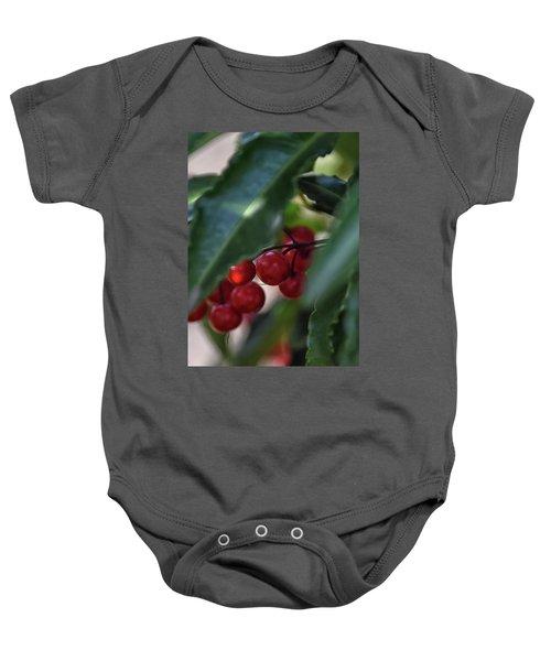 Red Berry Baby Onesie