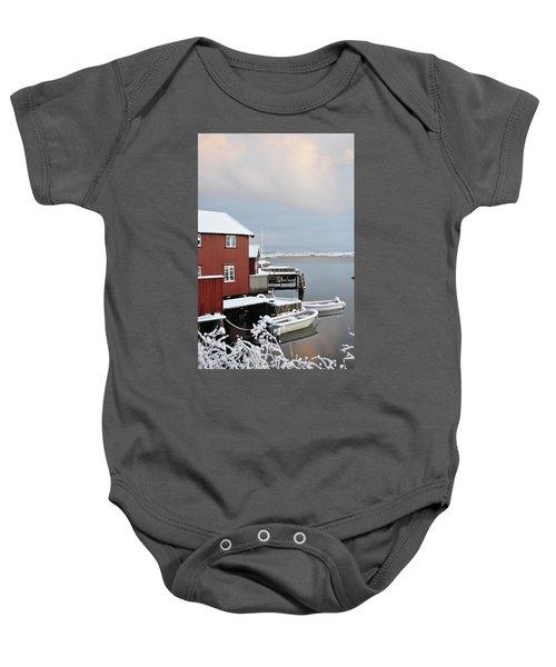 Boathouses Baby Onesie