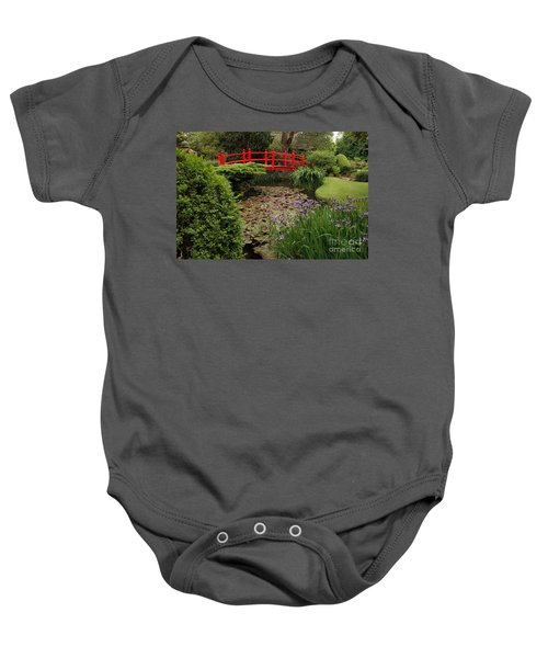 Red Bridge Baby Onesie